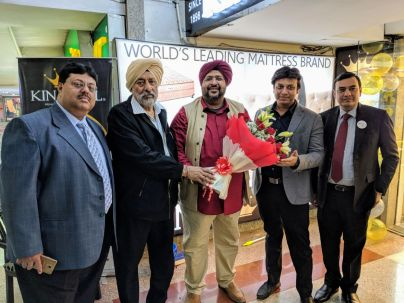 The ceremony was also graced by the auspicious presence of Mr. Archit Gupta, Managing Director, King Koil, Mr. Maneesh Mathur, Vice President, Sales & Marketing, King Koil and Mr. Mini Bawa, the owner of the store.