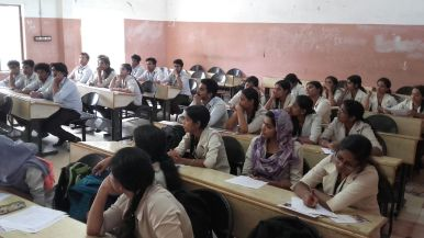 Students at Matha College of Technology Are Engaged In Learning About th...