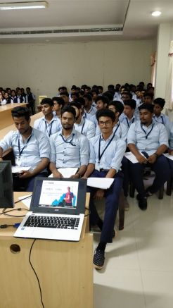 Students at Valia Koonambaikulathamma College of Engineering and Technology considering studying abroad
