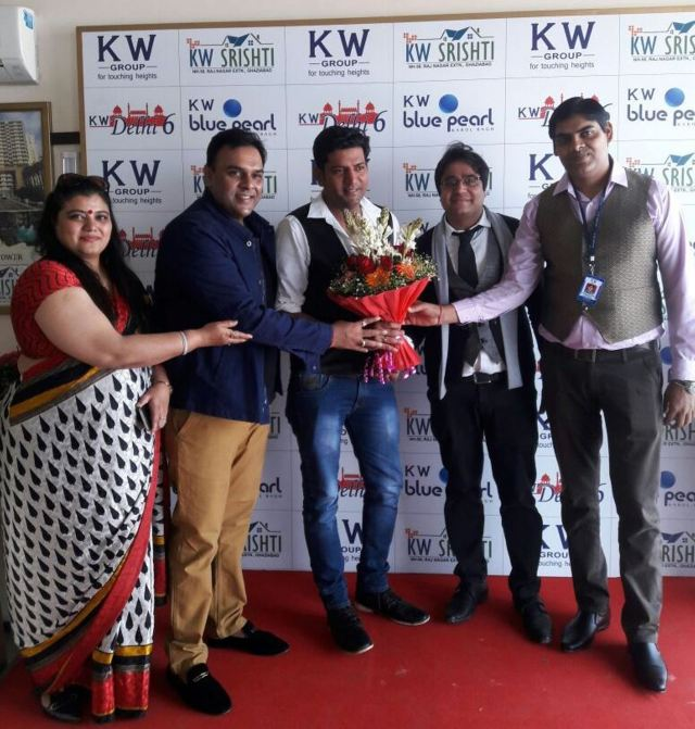 Big Boss and Roadies Fame Ashutosh Kaushik attends KW Group event