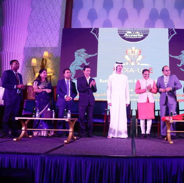 India-UAE 1-business summit held in Dubai-Pic